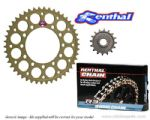 Renthal Sprockets and GOLD Renthal R3 O-Ring Chain - Yamaha RD 350 LC YPVS (1983-1995)